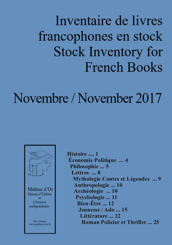 Book Stock Catalogue Nov 2017