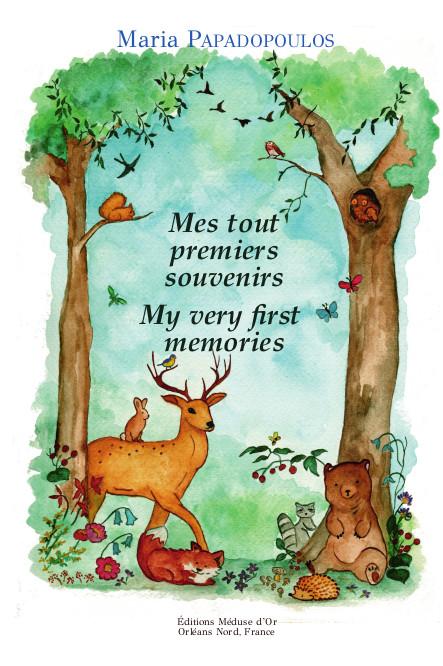 Mes Tout Premiers Souvenirs. Book Front Cover.
