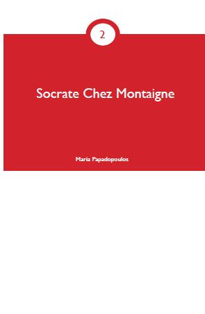 Socrate Chez Montaigne cover