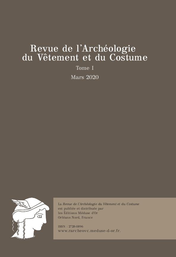 Cover RArcheoVC Tome 1 2020
